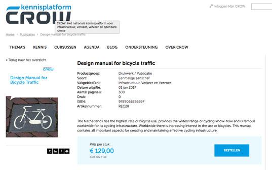 Radweg Planung Anleitung aus den Niederlanden